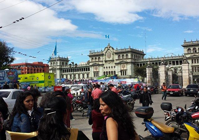 Palacio Nacional en Guatemala