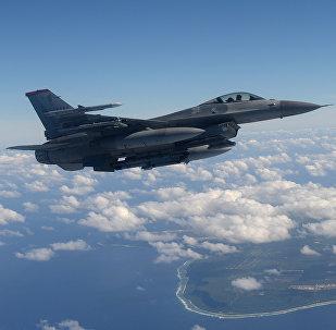 F-16 de la Fuerza Aérea de EEUU