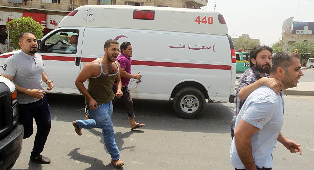 Ambulancia en Irak (archivo)