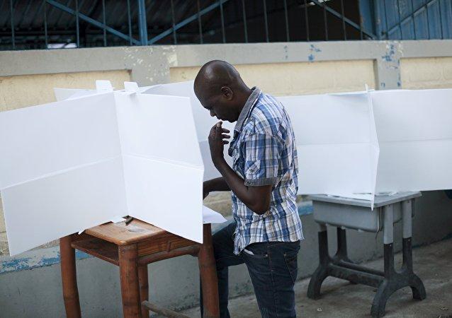 Elecciones en Haití (archivo)