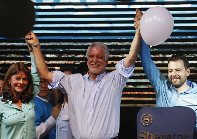 Enrique Peñalosa, candidato a la alcaldía de Bogotá
