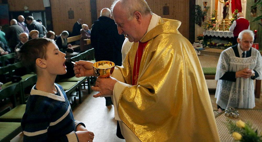 Rito católico de comunión