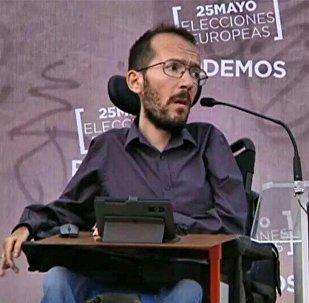 Pablo Echenique, secretario general de Podemos (archivo)
