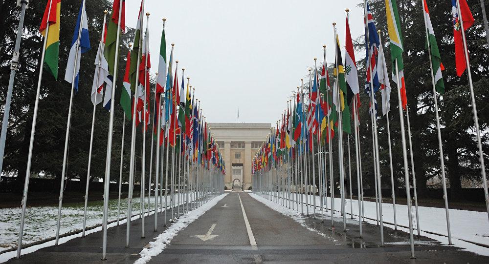 Sede de la ONU en Ginebra, Suiza (archivo)