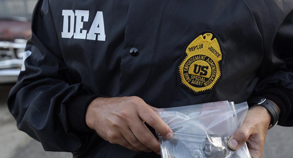 Agente de policìa de la DEA