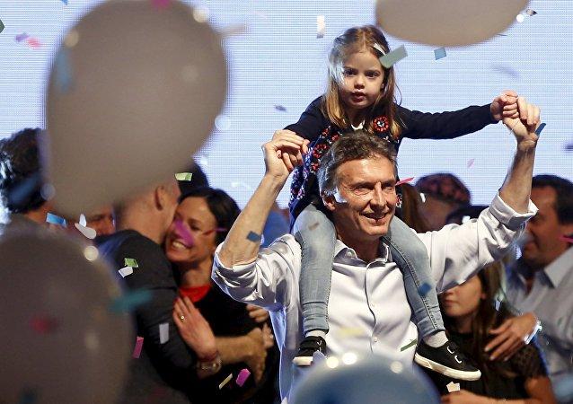 Mauricio Macri, candidato presidencial en Argentina