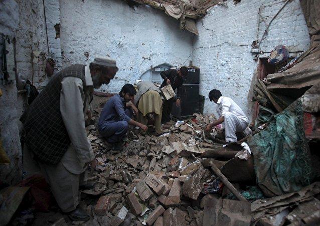 Consecuencias del terremoto en Pakistán
