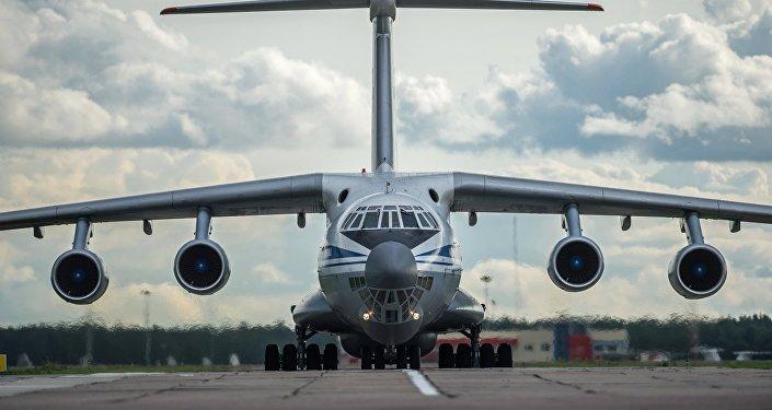 Avión Il-76 ruso