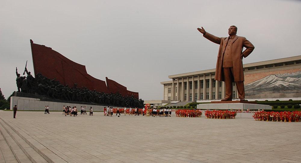 Pyongyang, the capital of North Korea