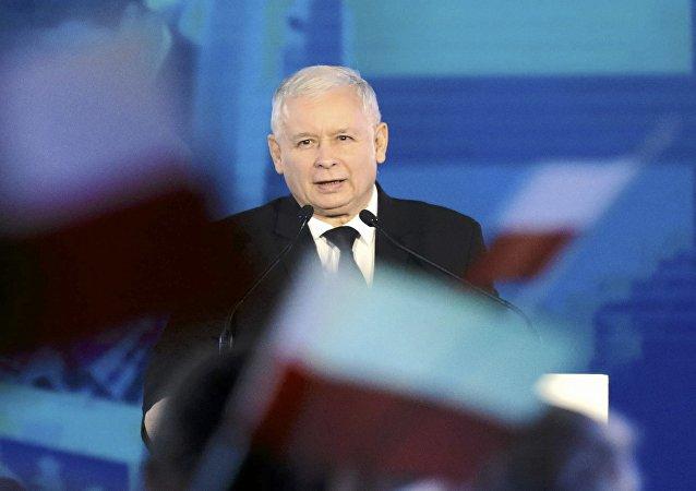 Jaroslaw Kaczynski, líder del partido conservador Ley y Justicia