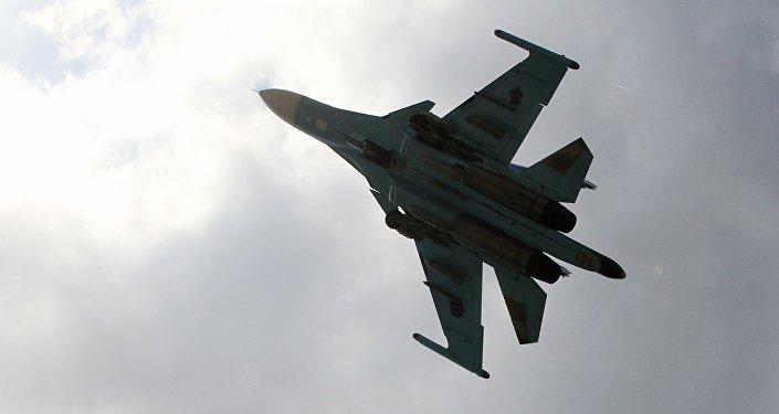 Caza ruso Su-34 en Siria (Archivo)
