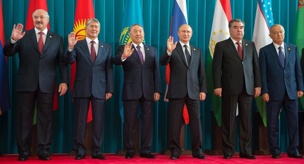 Líderes de los estados miembros de la CEI (archivo)