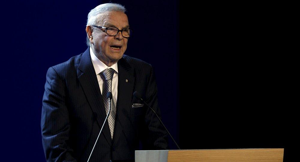 Jose Maria Marin, ex-president of Brazilian Football Confederation
