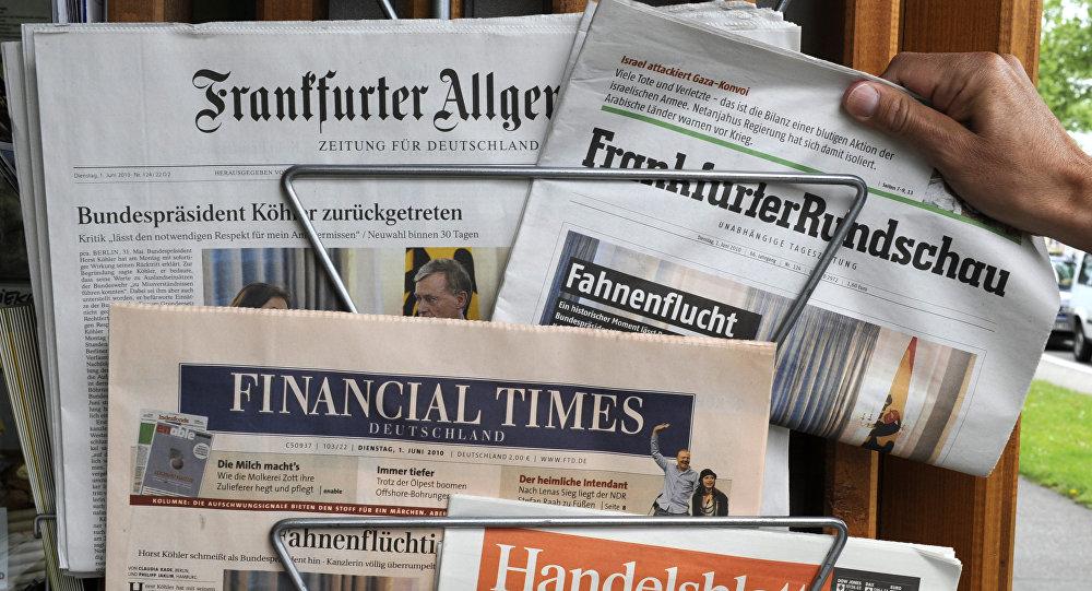 Prensa alemana