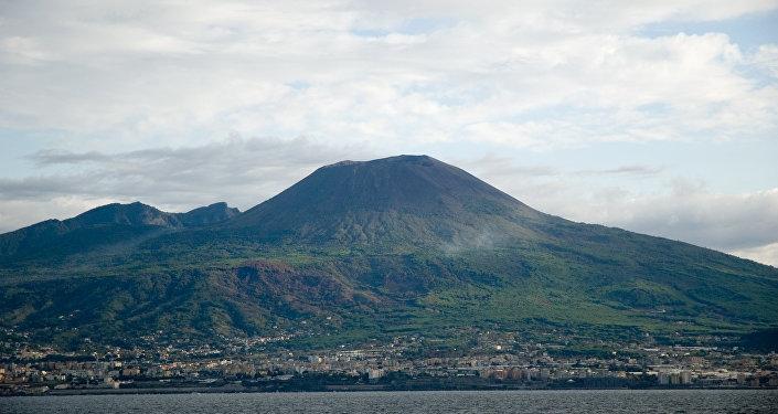 El monte Vesubio
