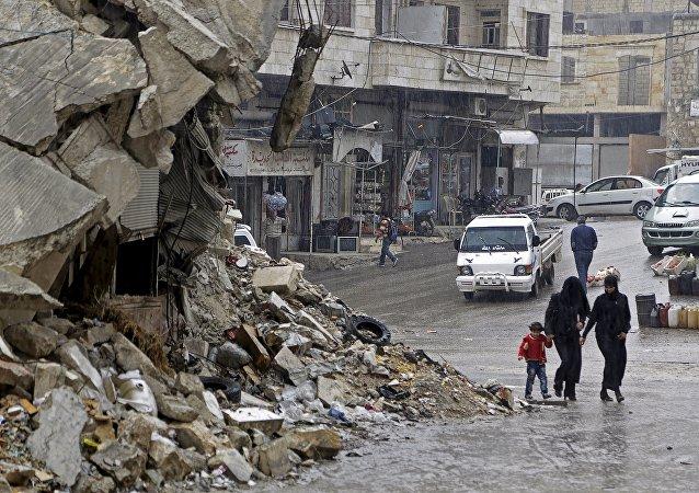 Situación en la provincia de Idlib en Siria