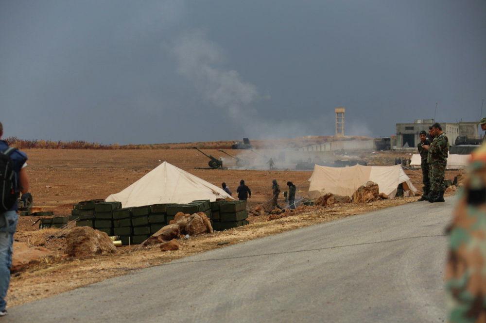 Combates del Ejército sirio por el control de la estratégica región de Idlib