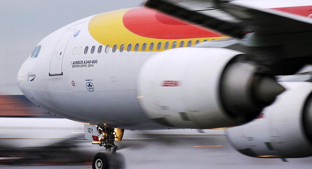 Avión de Iberia