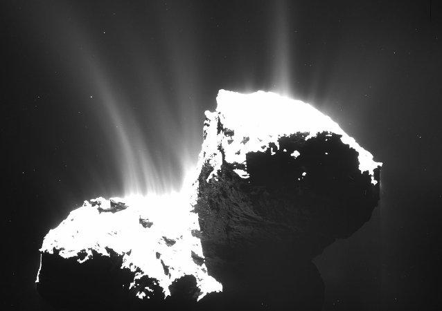 Cometa 67P/ Churiúmov-Guerasimenko