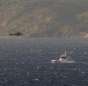 Naufragio en el mar Egeo (Archivo)