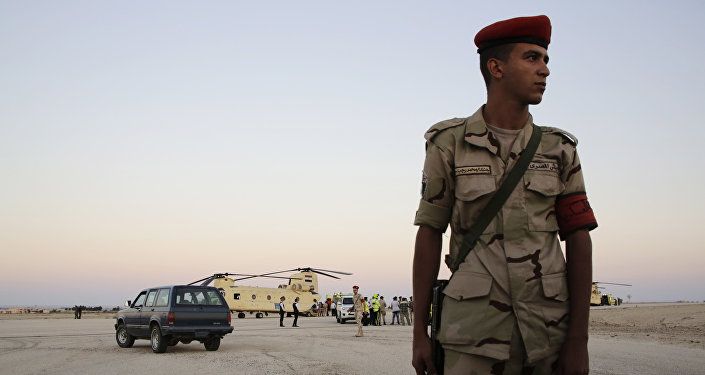 Soldado del Ejército de Egipto