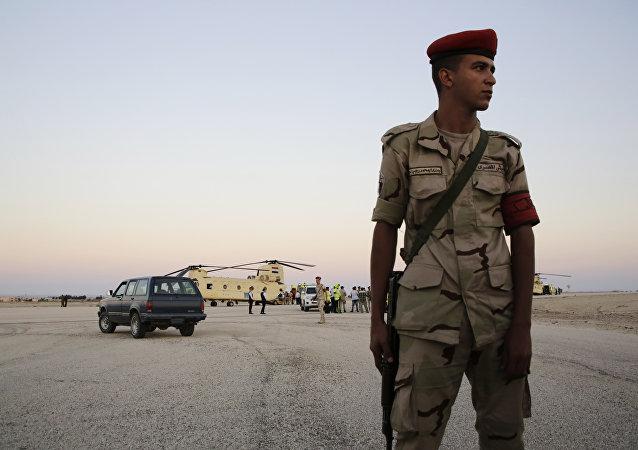 Soldado egipcio