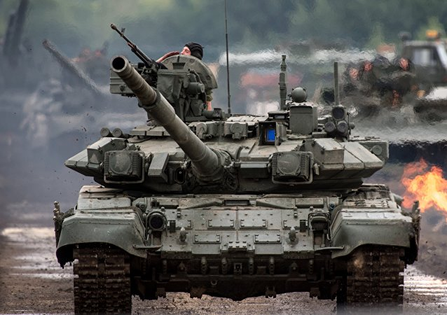Tanques rusos T-90S