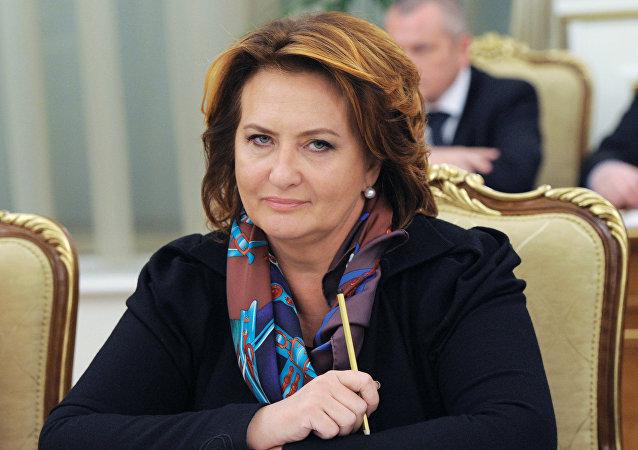 Elena Skrinnik, exministra rusa de agricultura