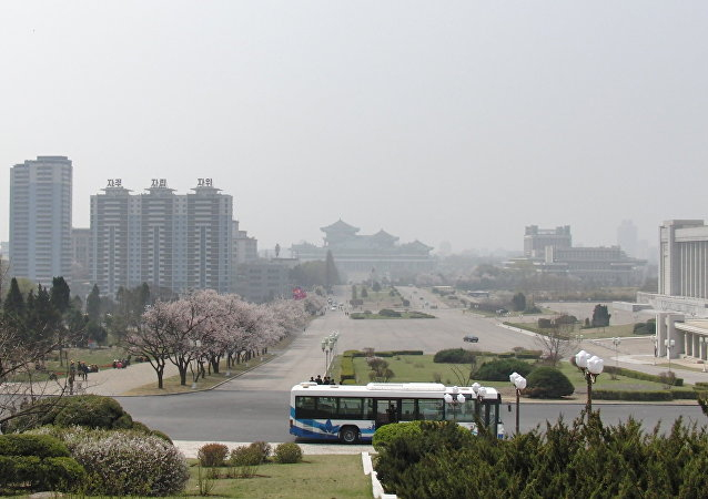 Pyonyang, capital de Corea del Norte