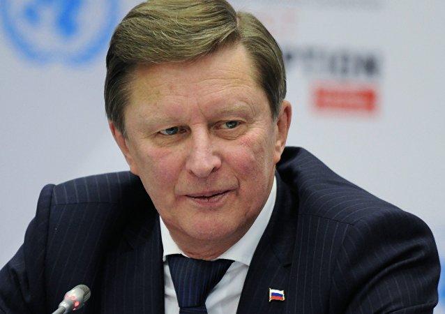 Serguéi Ivanov, jefe de la Administración del presidente de Rusia