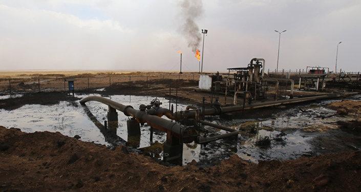 Bombas de petróleo en Siria