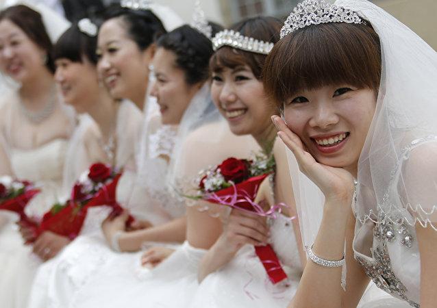 Las novias chinas