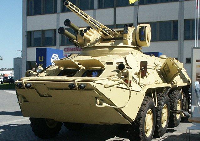 BTR-3E1 de las Fuerzas Armadas de Ucrania (archivo)