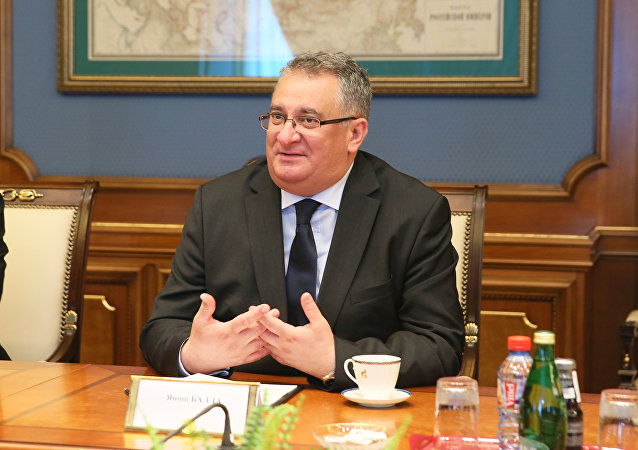 János Balla, embajador de Hungría en Rusia
