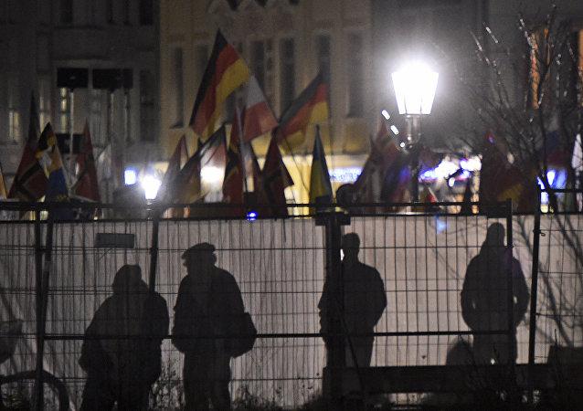 Manifestaciones antiislámicos en Alemania