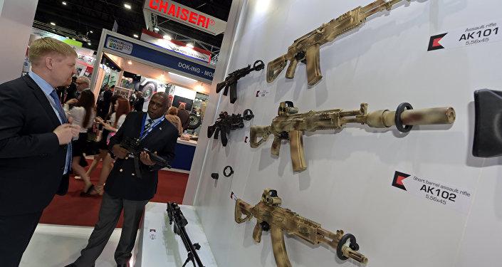 El armamento de Kalashnikov (archivo)