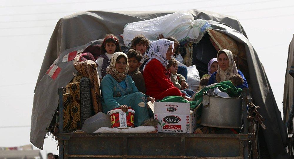 Civiles sirios (archivo)