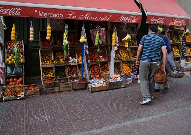 Mercado en Uruguay