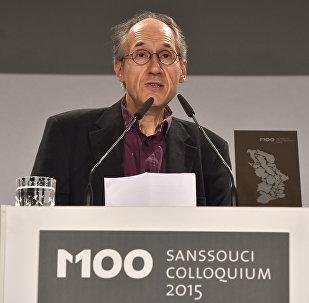Gerard Biard, redactor jefe de Charlie Hebdo
