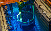Un reactor nuclear (ilustración)