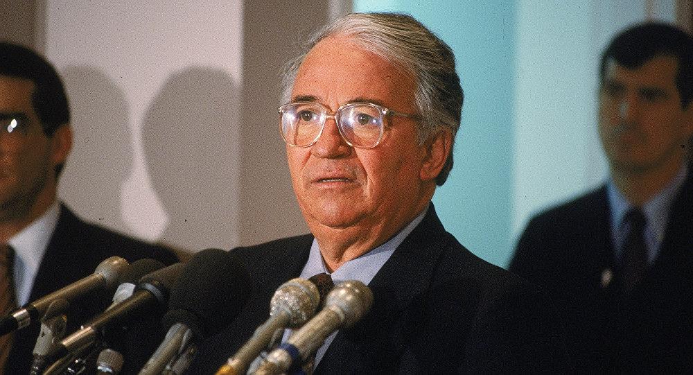 Belisario Betancur, expresidente de Colombia (Archivo)