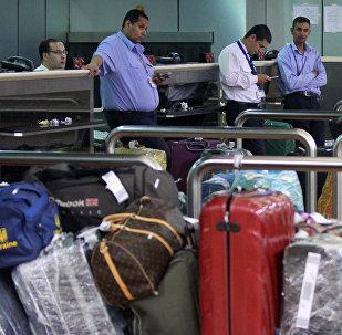 Equipaje en el aeropuerto de Sharm el Sheikh