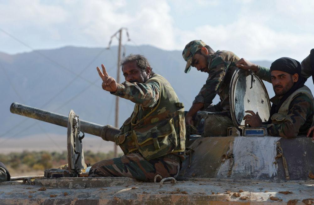 Ejército sirio: ofensiva por tierra y aire