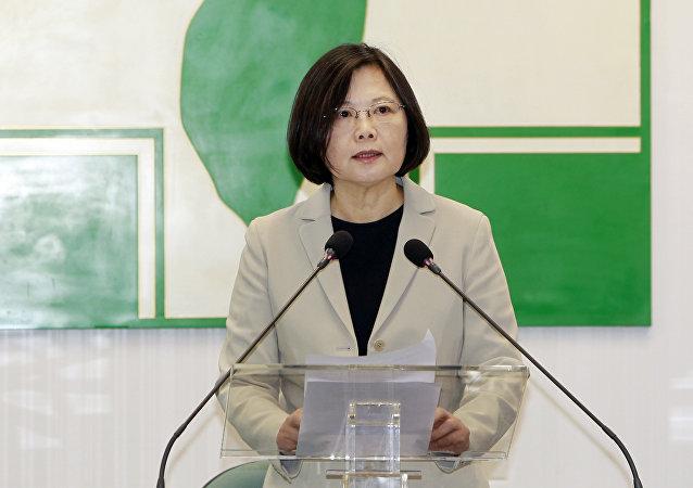 Tsai Ing-wen, la líder de la oposición en Taiwán