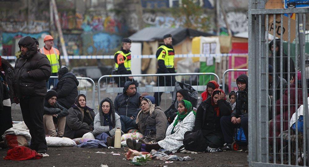 Migrantes en Europa (archivo)