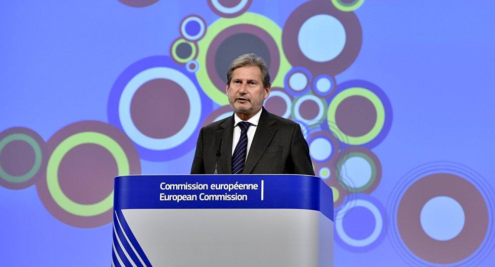 Johannes Hahn, comisario de Ampliación y Vecindad de la Comisión Europea