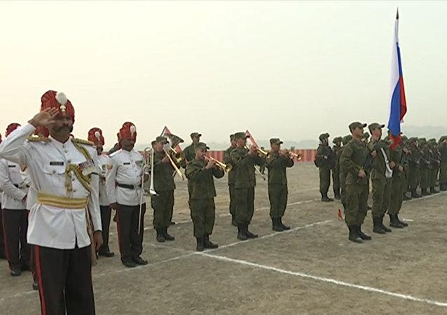Rusia y la India comienzan simulacro antiterrorista (archivo)