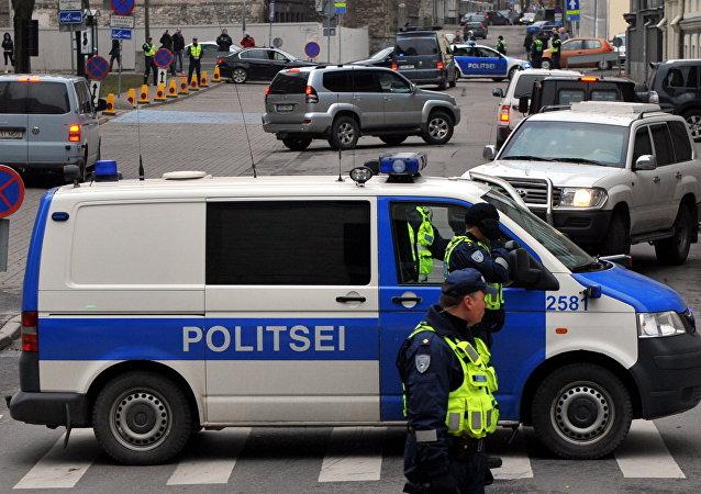 Policía estonia (archivo)