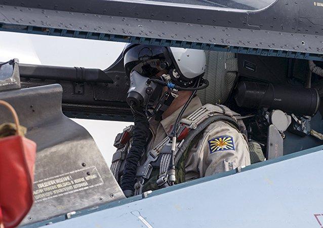 Un piloto ruso en Siria