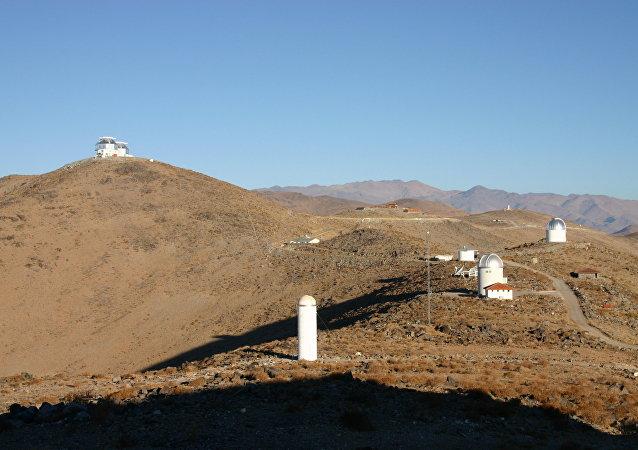 Observatorio Las Campanas en Chile